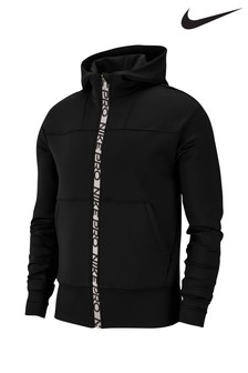 Nike Pro Black Zip Through Training Hoody