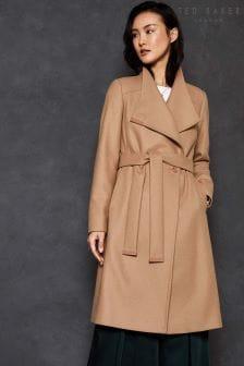 Ted Baker Short Wool Rich Wrap Coat