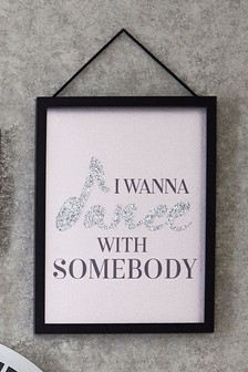 Dance With Somebody Framed Art