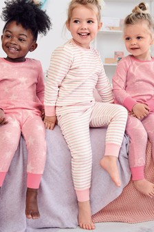 3 Pack Cloud Snuggle Pyjamas (9mths-8yrs)