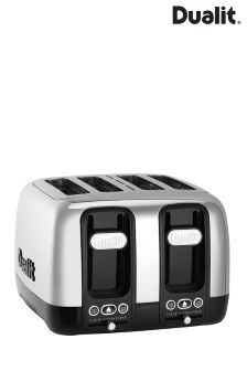 Dualit Domus Black 4 Slot Toaster