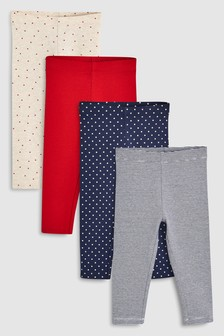 Leggings Four Pack (3mths-6yrs)