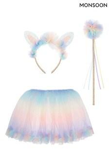 Monsoon Changeable Rainbow Wand, Skirt And Headband Dress-Up Set