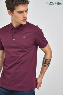 Lacoste® Sport Blackberry Chine Burgundy L1230 Polo