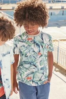 Tropical Print T-Shirt (3-16yrs)