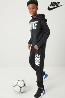 Nike Black Dri-FIT Tapered Joggers