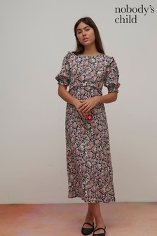 Nobody's Child Felicia Floral Midi Dress
