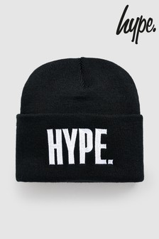 Hype. Black Block Beanie