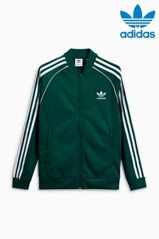 Haut de survêtement adidas Originals Superstar vert
