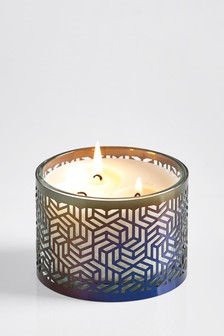 Pomegranate And Black Lily 3 Wick Candle