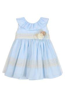 Miranda Blue Cotton Outfit