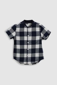 Baseball Check Shirt (3mths-6yrs)