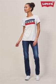 Levi's® 724™ Dark Wash High Rise Straight Jean