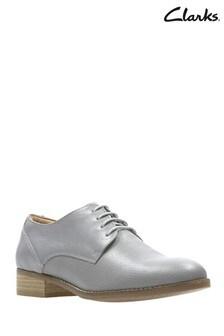 Clarks Grey Netley Bloom Shoe