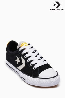 Converse Black/Yellow Starplayer