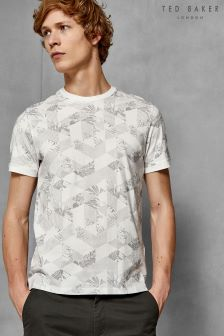 Ted Baker Tots Floral Geo Print T-Shirt