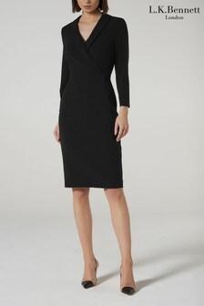 שמלה של L.K.Bennett דגם Effie בשחור