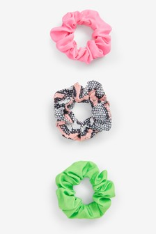 Bright Scrunchies Three Pack