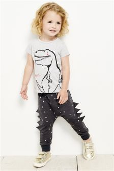 Dino Roar T-Shirt And Joggers Set (3mths-6yrs)