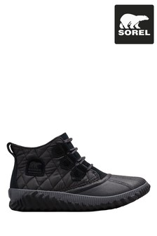 Sorel® Black Out N About™ Plus Quilted Ankle Boots
