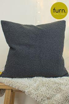 Furn Granite Malham So Soft Shearling Fleece Cushion