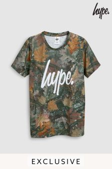 Hype. Brown Leaves Tee