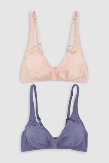 Daisy Non Wired Non Padded Bras Two Pack