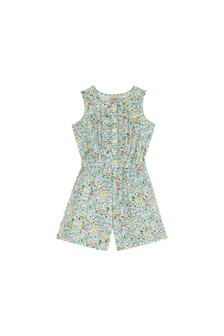 Cath Kidston® Cream Bunny Meadow Playsuit