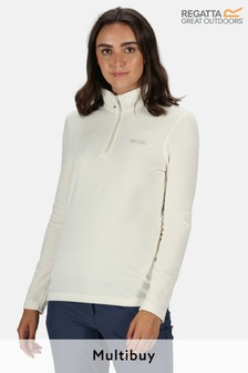 Regatta Sweetheart White Half Zip Top