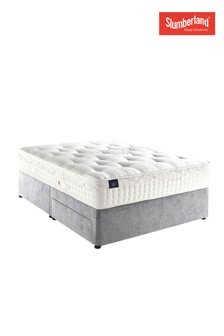 Silver Seal Two Drawer Divan Bed by Slumberland