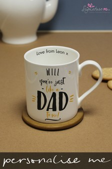 Personalised Just Like A Dad To Me Mug by Signature PG