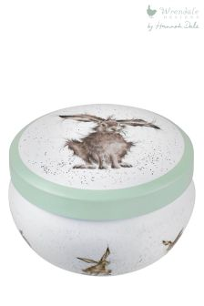 Wrendale Hare Tin Candle