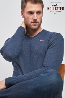Hollister V-Neck Knitted Jumper