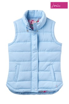 Joules Blue Padded Gilet