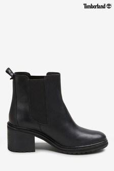 Timberland® Black Sienna Block Heel Chelsea Boots