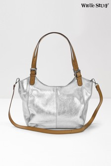 White Stuff Silver Bailey Hobo Bag