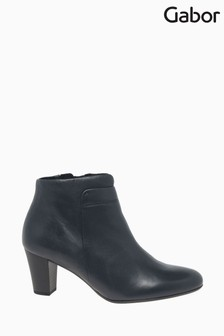 Gabor Matlock Ocean Leather Fashion Ankle Boots