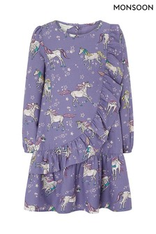Monsoon Lilac Frederica Dress