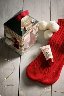 Fairisle Pattern Chunky Sock Gift