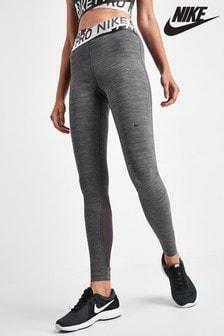 Nike Pro Grey Intertwist Leggings