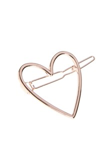Heart Hair Clips Two Pack