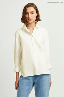 French Connection Yellow Rossa Oxford Boy Fit Shirt