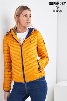 Superdry Yellow Down Padded Jacket
