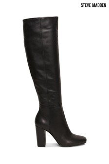 Steve Madden Persist Black Over The Knee Boots