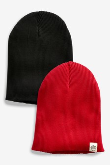 2 Pack Beanies (Younger)