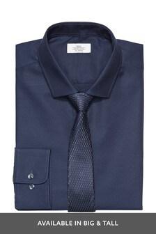 Cotton Tonic Shirt And Tie Set