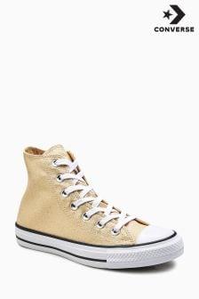 Converse Gold Twine Chuck Hi Top