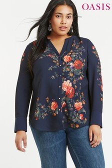 Oasis Blue Curve Autumn Placement Shirt