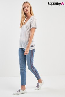 Superdry Side Tape Cassie Skinny Jean
