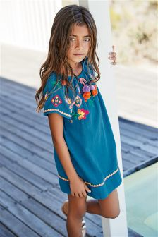 Embroidered Dress (3-16yrs)